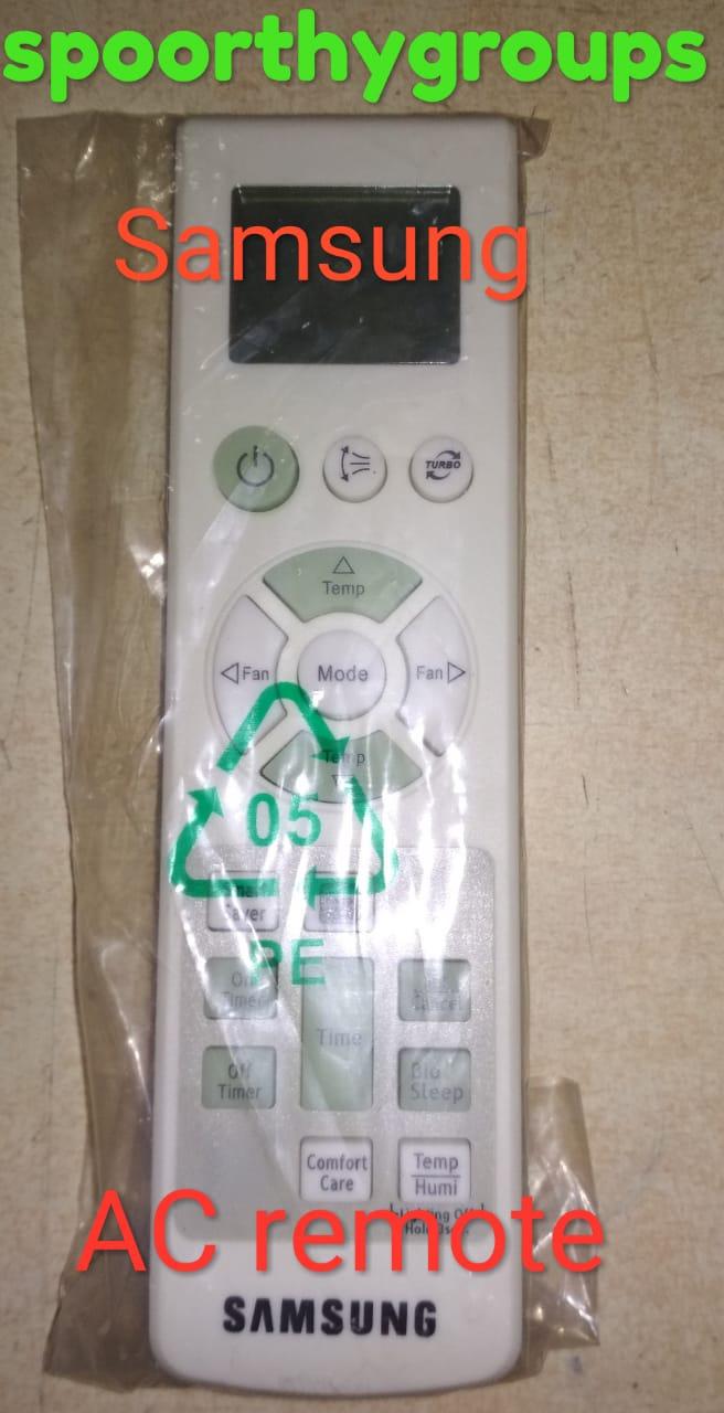 Samsung Air Conditioner Remote